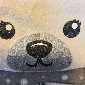 4/$20 Justice kids plush polar bear blanket